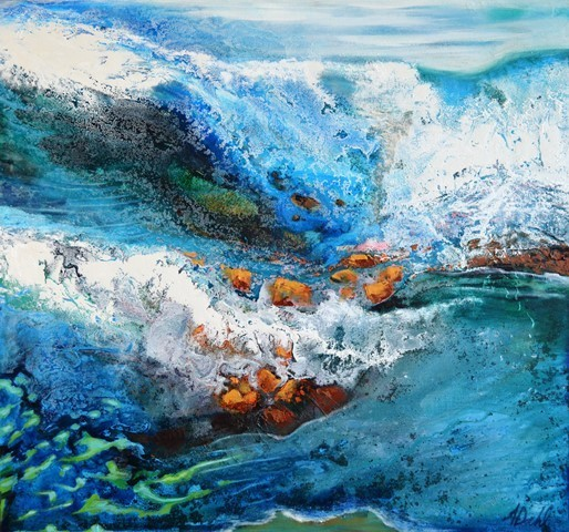 email-The Waves are Dancing 72x67cm $2900